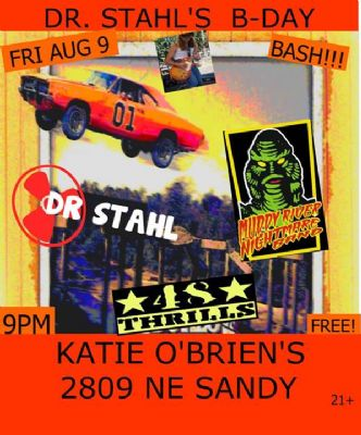 Katie O'Brien's - Portland, OR - Dr. Stahls Birthday Show