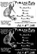 Lake County Pyrate Punx w/The Black Aria, Antimony, Outrage, A Quiet Mind